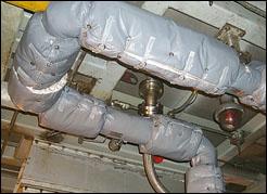 Gas Turbine NOx HP Steam Line